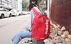 Рюкзак Supreme Червоний, фото 10
