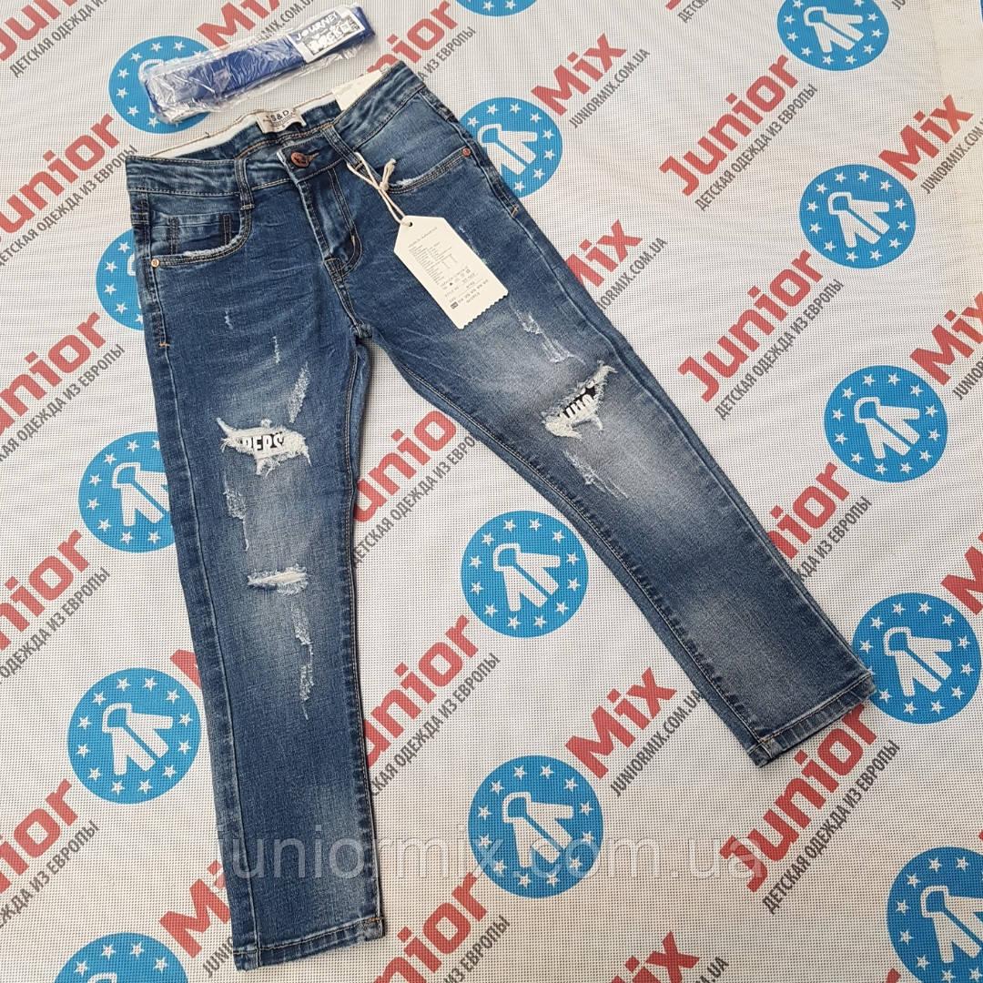 Подростковые джинсы для мальчиков оптом S&D
