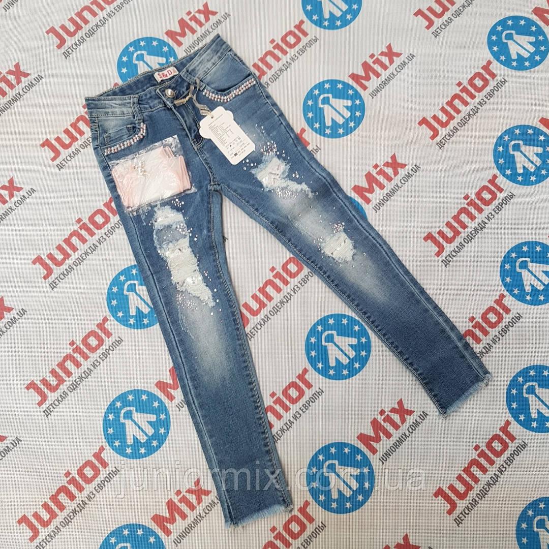 Подростковые джинсы для девочек оптом   S&D
