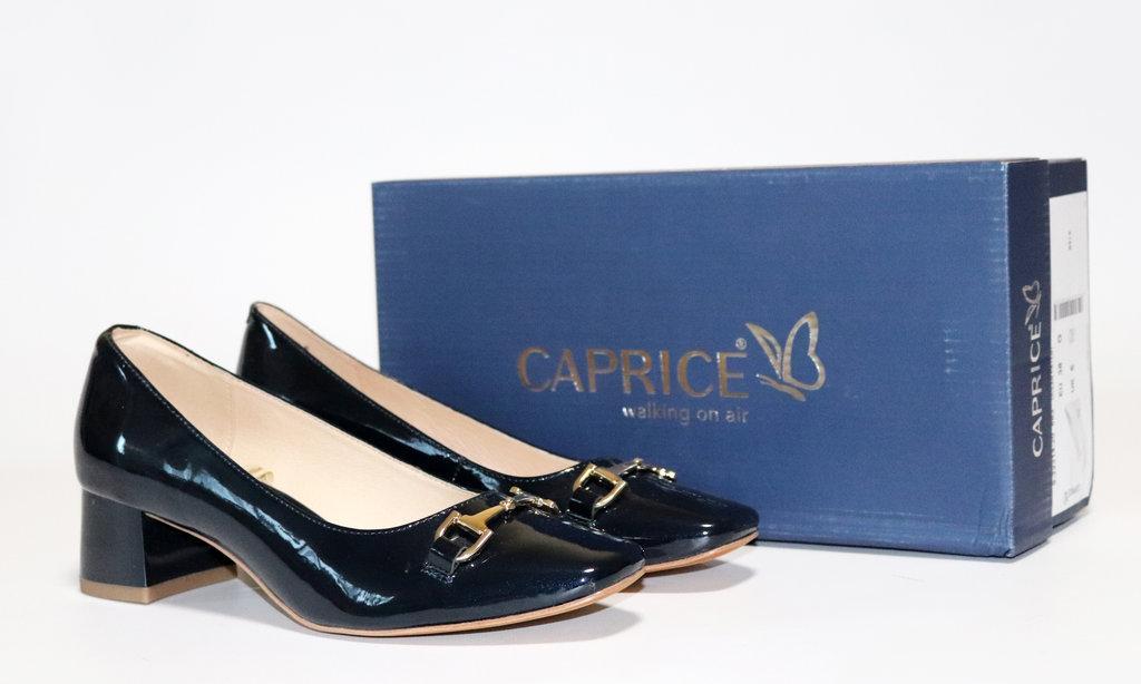 8bacfc296 Женские туфли Caprice Premium оригинал Германия натуральная кожа 37,5 -  Kapci в Днепре