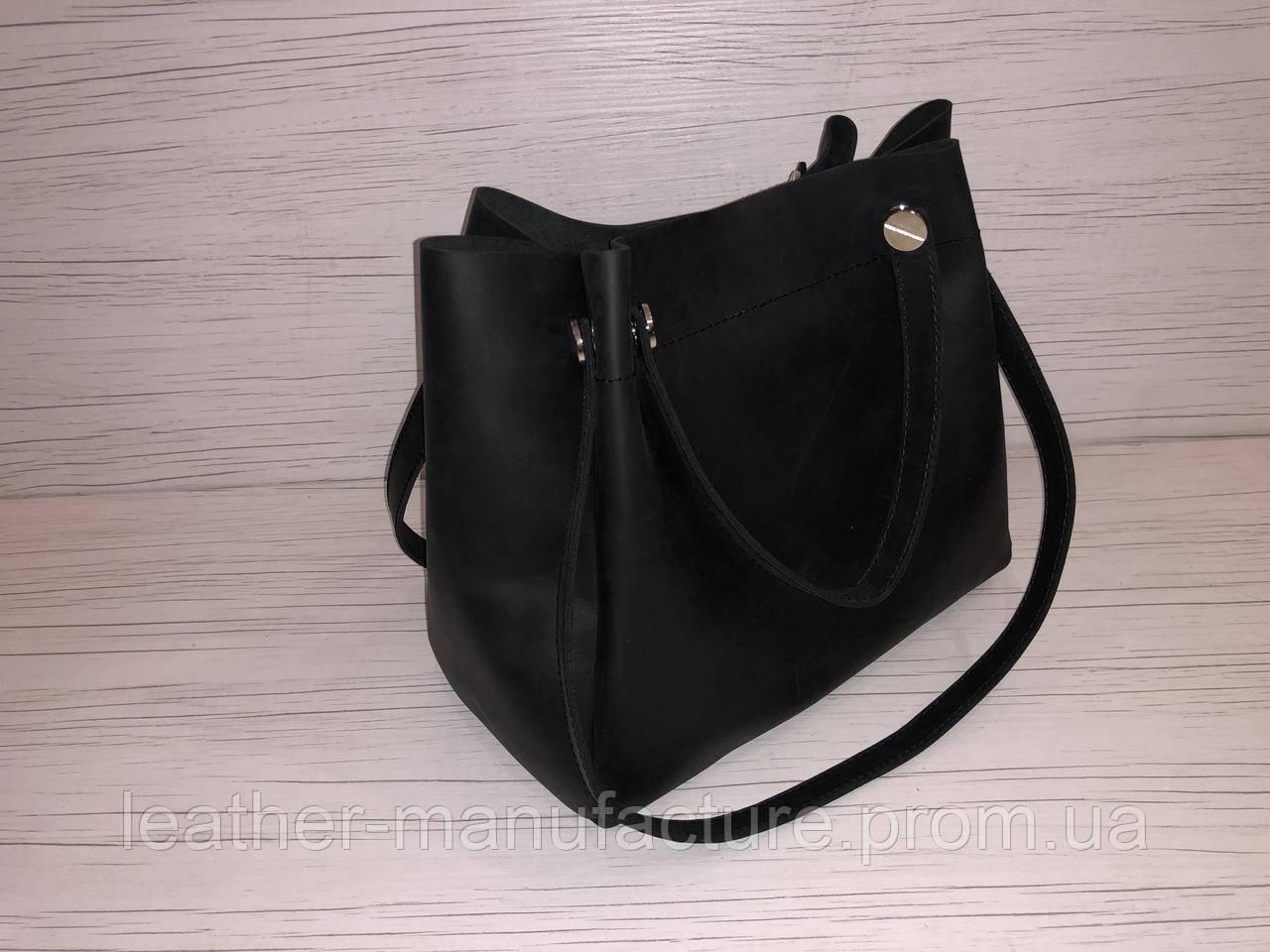 5f342171beac32 Сумка жіноча, шкіряна, чорна. Ananda - Art Leather Group - Arturo  collection &