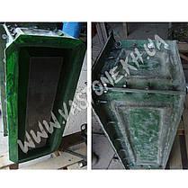 """Форма для цветочницы из бетона """"Фрона"""" стеклопластиковая, фото 3"""