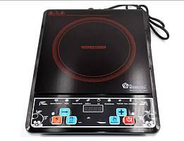Инфракрасная электроплита Domotec MS 5841 мощностью 2000 Вт с таймером