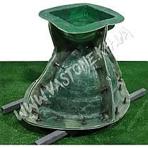 """Форма для вазона из бетона """"Гречанка"""" стеклопластиковая, фото 2"""