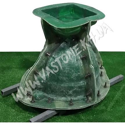 """Форма для вазона из бетона """"Гречанка"""" стеклопластиковая , фото 2"""
