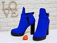 051946f0c744 Сникерсы-ботинки Из Натуральной Замши IK-1713 36 — в Категории ...