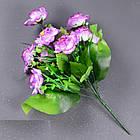 Галльская роза NС44/9 (16 шт./ уп.) Искусственные цветы оптом, фото 4