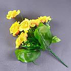 Галльская роза NС44/9 (16 шт./ уп.) Искусственные цветы оптом, фото 5