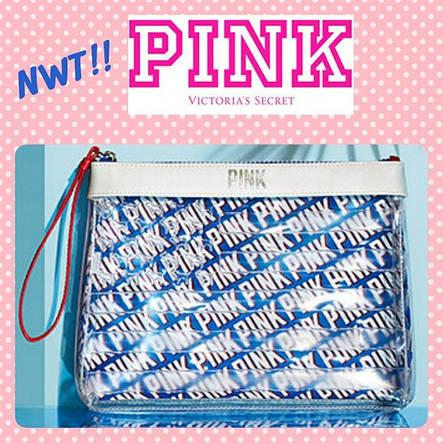 Косметичка Victoria's Secret Pink Americana Bag, фото 2
