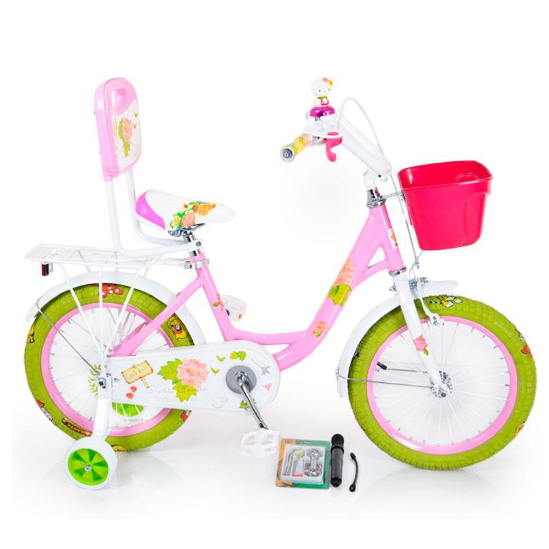 Детский Велосипед 16-ROSES Pink