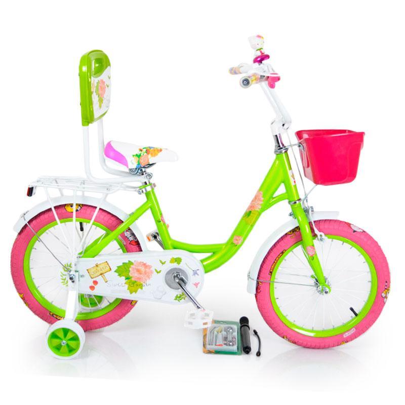 Дитячий Велосипед 16-ROSES Green