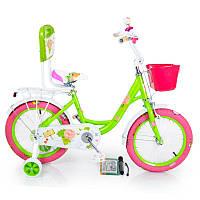 Детский Велосипед 16-ROSES Green