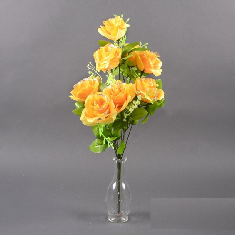 Букет Роза полубутон NС 21/10 (12 шт./ уп.) Искусственные цветы оптом