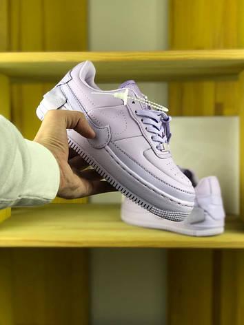 f51af31d Женские кроссовки Nike Air Force 1 Jester XX 'Violet Mist': продажа ...