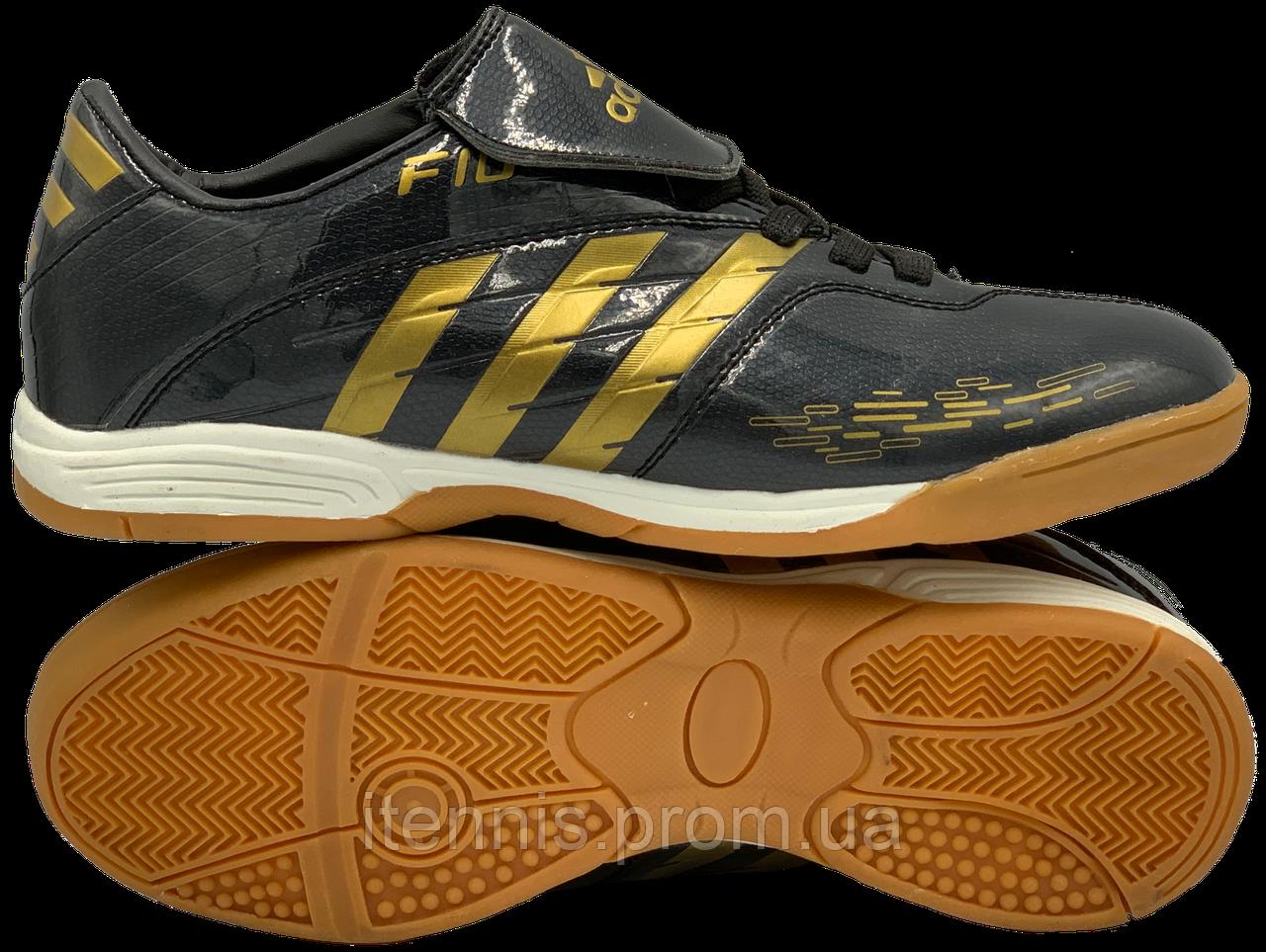 Футзалки Adidas F10 (р. 36-40) Black