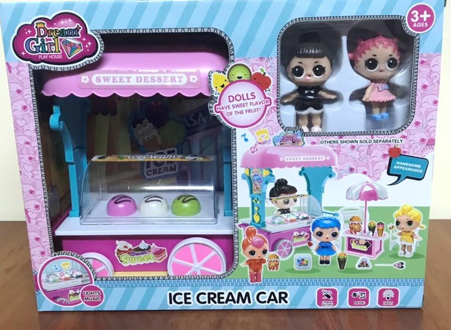 Набор LOL Фургон с мороженным (световые и звуковые эффекты)