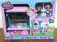 Набор LOL Фургон с мороженным (световые и звуковые эффекты), фото 1