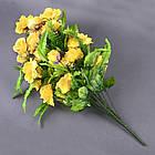 Роза бутон с папоротником NC-27/36 (7 шт./уп.) Искусственные цветы оптом, фото 4