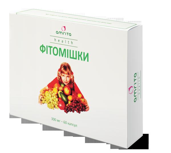 Фитомишки Амрита, витамины и минералы для детей, 60 капс.