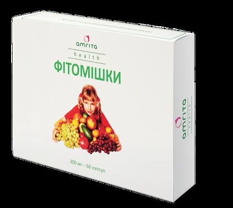 Фитомишки Амрита, витамины и минералы для детей, 60 капс., фото 2