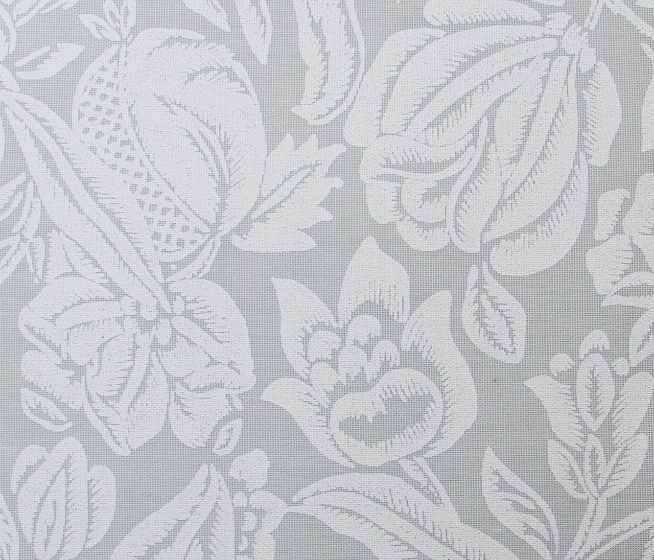 Готовые рулонные шторы Ткань Фантазия Белый 1250*1500
