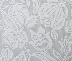 Готовые рулонные шторы Ткань Фантазия Белый