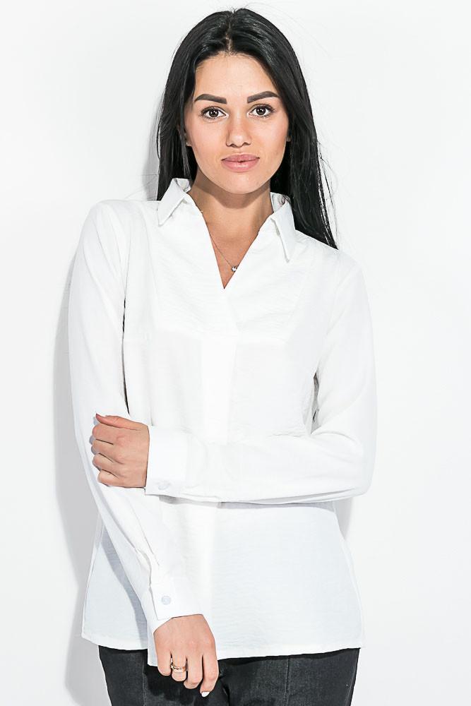Блузка женская, свободного покроя 64PD339 (Молочный)