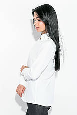Блузка женская, свободного покроя 64PD339 (Молочный), фото 3