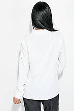 Блузка женская, свободного покроя 64PD339 (Молочный), фото 2