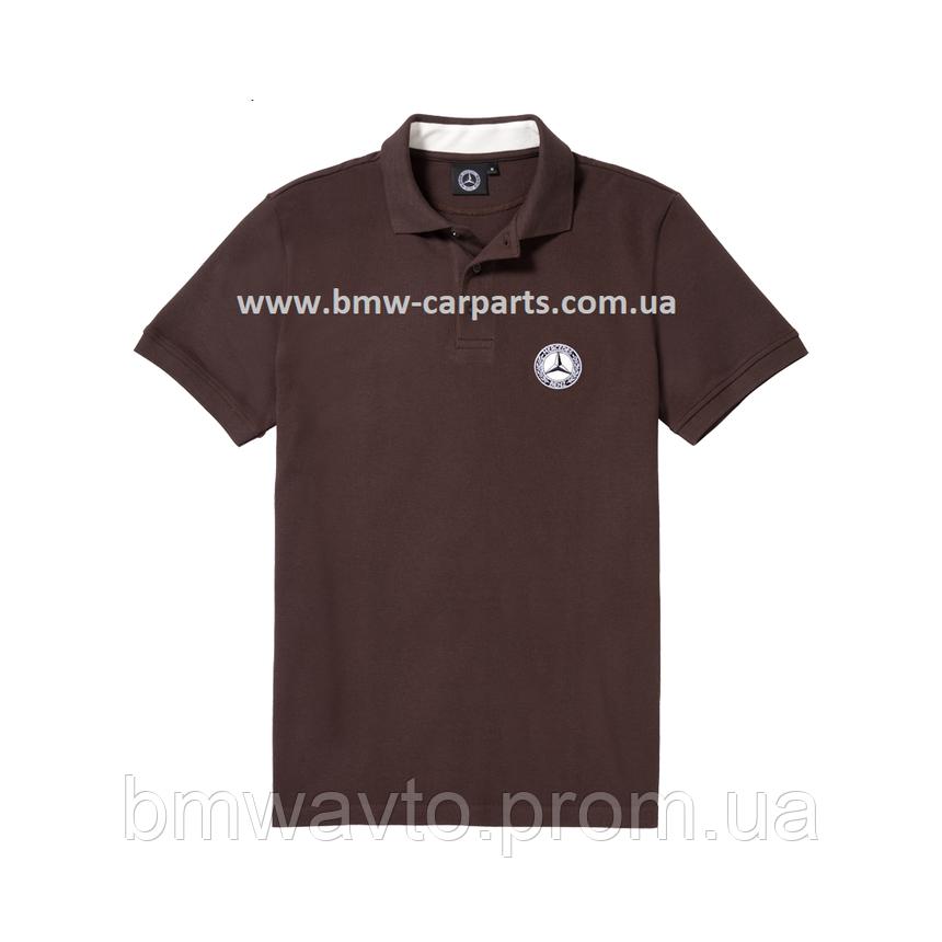 Мужская футболка поло Mercedes-Benz Men's Polo Shirt, фото 2