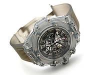 Прозрачные часы HUBLOT - Cristal / Grey