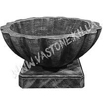 """Форма для вазона из бетона """"Прима"""" стеклопластиковая , фото 2"""