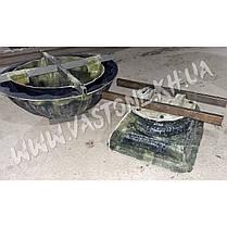 """Форма для вазона из бетона """"Прима"""" стеклопластиковая , фото 3"""