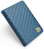 Чехол Кожаный чехол с LED подсветкой для Kindle 5/Kindle 4 Синий (MB28863)