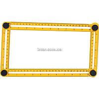 Линейка-шаблон для разметки 310*175*25мм
