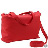 Женская сумка-саквояж Сетчел красная