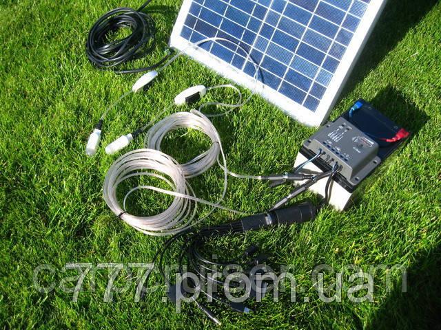 10W Походная Мини Электростанция на Солнечных Батареях, банк солнечной энергии для зарядки телефона, планшета