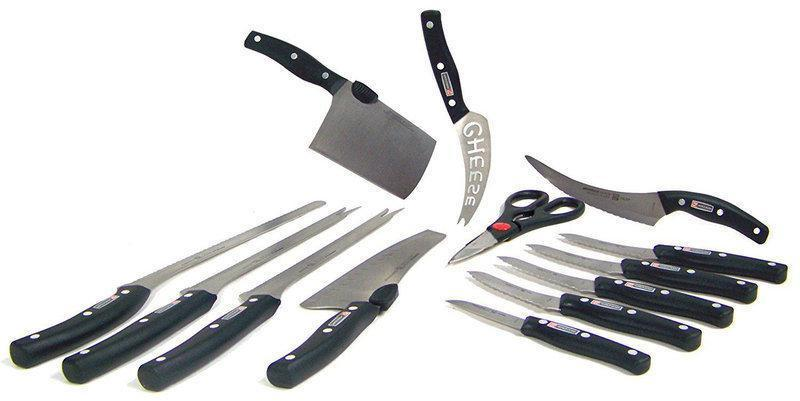 Набор профессиональных ножей Miracle Blade World Class