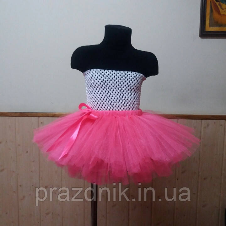 Розовая юбка пачка