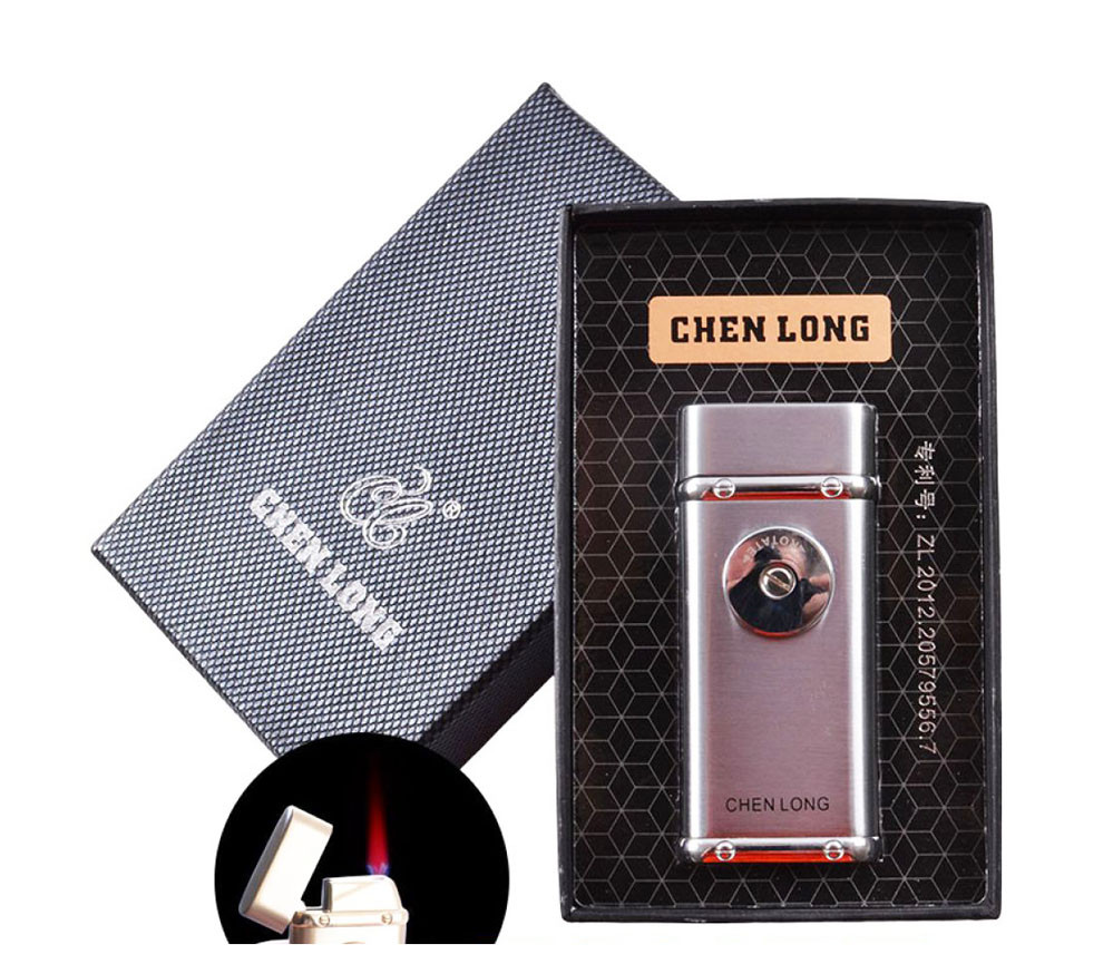 Зажигалка подарочная Chen Long 4326 электро-поджог