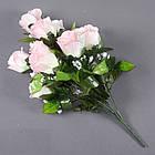 Букет розы NА-062/10 (14 шт./ уп.) Искусственные цветы оптом, фото 2
