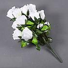 Букет розы NА-062/10 (14 шт./ уп.) Искусственные цветы оптом, фото 4