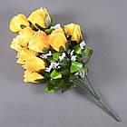 Букет розы NА-062/10 (14 шт./ уп.) Искусственные цветы оптом, фото 3