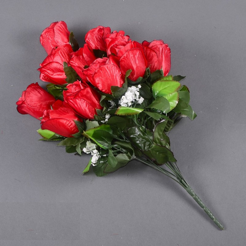 Букет розы NА-062/10 (14 шт./ уп.) Искусственные цветы оптом