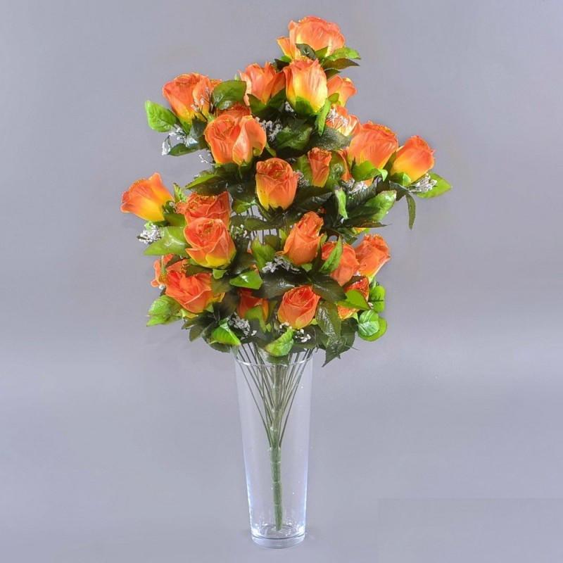 Букет розы NА-060/33 (6 шт./ уп.) Искусственные цветы оптом