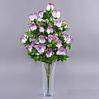 Букет розы NА-060/33 (6 шт./ уп.) Искусственные цветы оптом, фото 5