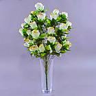 Букет розы NА-060/33 (6 шт./ уп.) Искусственные цветы оптом, фото 3