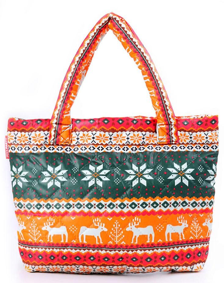 15feacef6ab5 Стеганая дутая эко-сумка Poolparty Оранжевая - Arion-store - кожгалантерея  и аксессуары в
