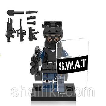 """Спецназ SWAT"" фигурка совместимая с Лего"