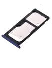 "Лоток для сим карты и карты памяти для Huawei Honor 7C 5.7"" (AUM-L41)/Y7 Prime 2018 (LDN-L01/LDN-L21), синий"